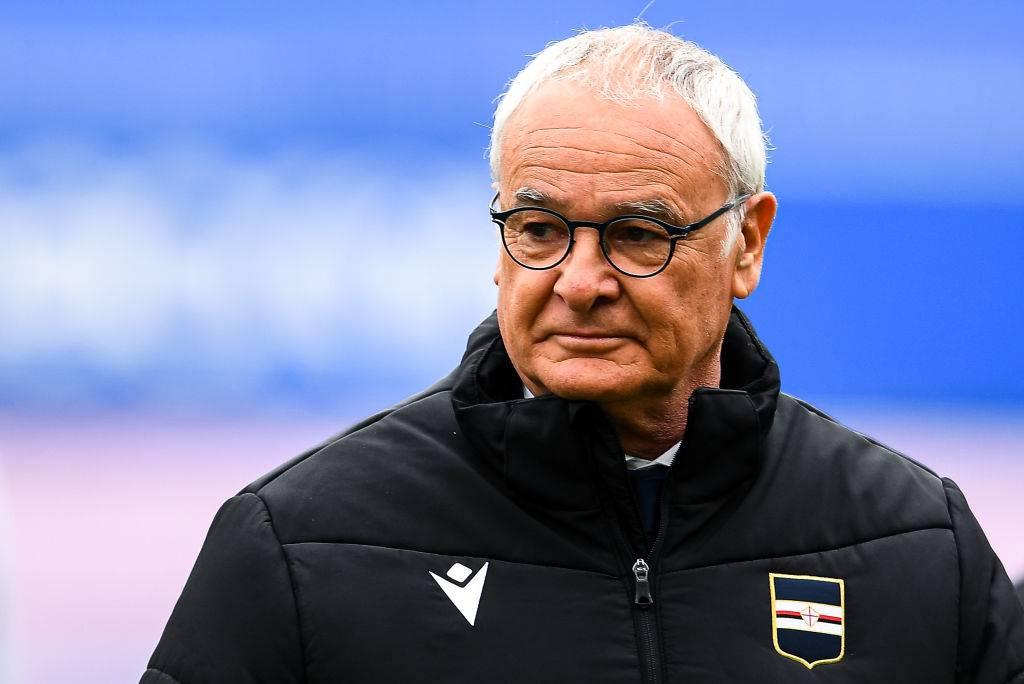 Ranieri in Napoli-Sampdoria