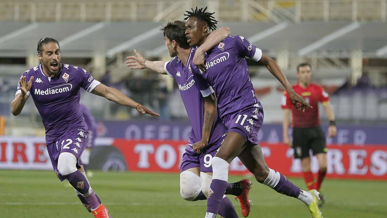 La Fiorentina esulta