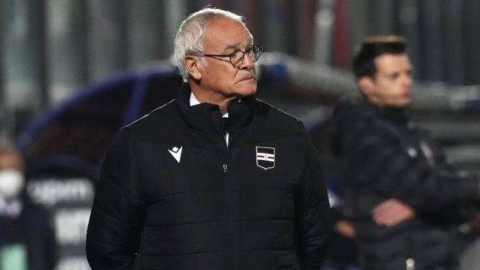Claudio Ranieri a bordocampo