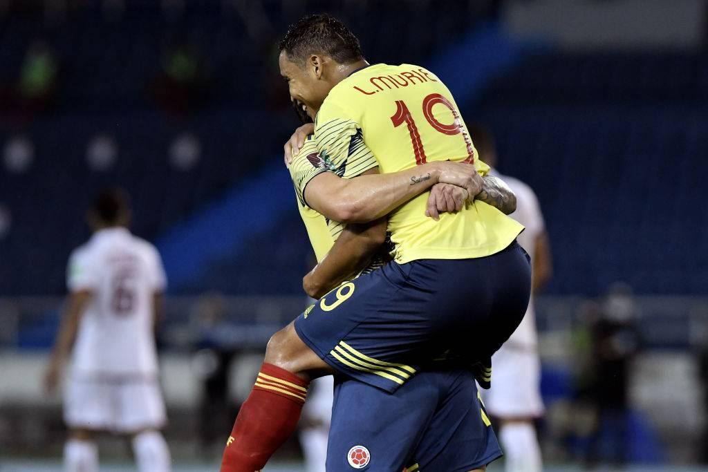 Muriel in trionfo con la Colombia