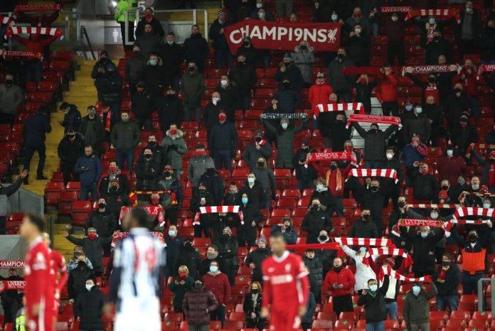Tifosi del Liverpool allo stadio