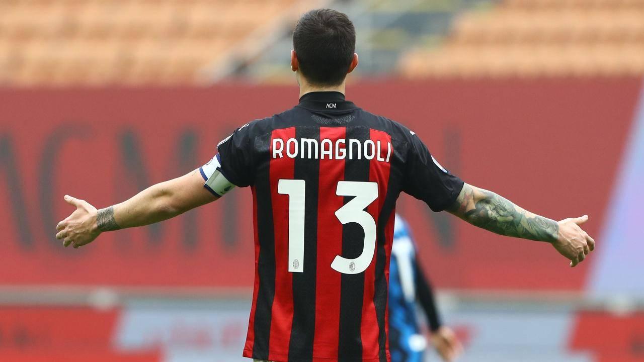 Alessio Romagnoli in campo