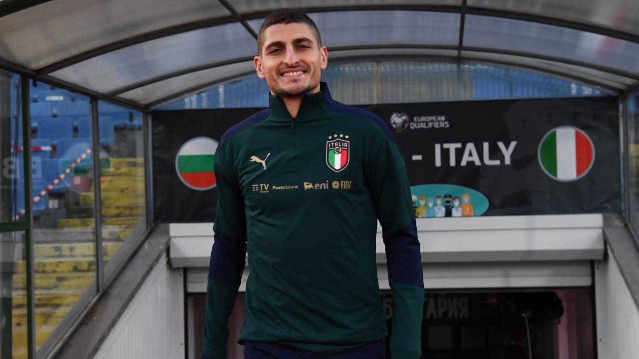 Marco Verratti con la nazionale
