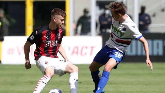 Milan e Sampdoria in campo