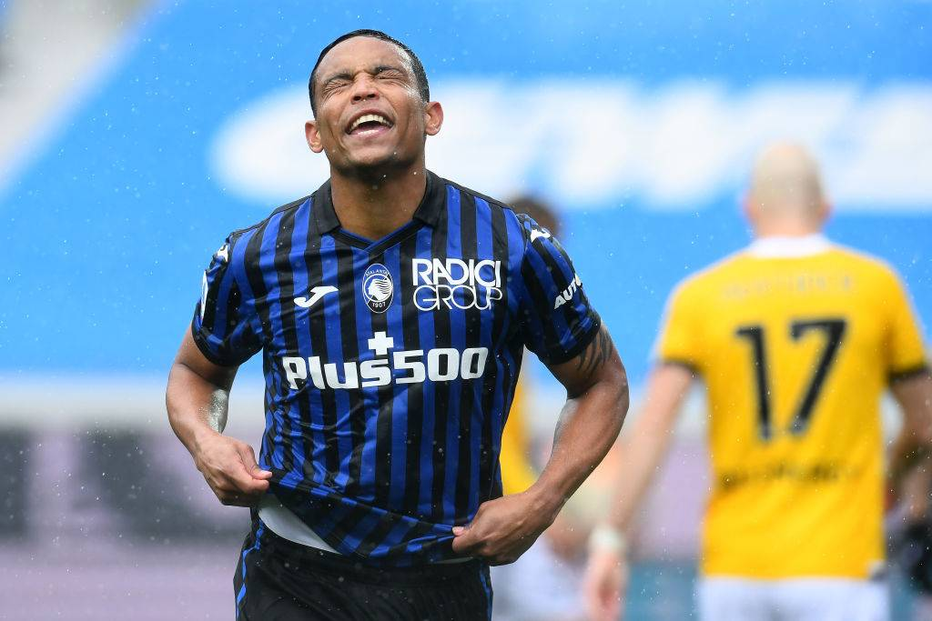Muriel esulta per la doppietta in Atalanta-Udinese