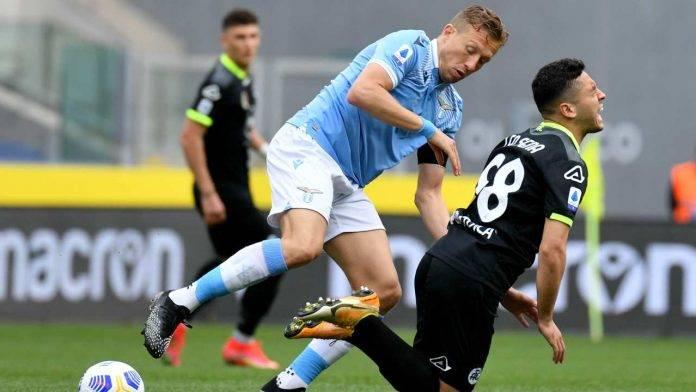 Lazio e Spezia in azione