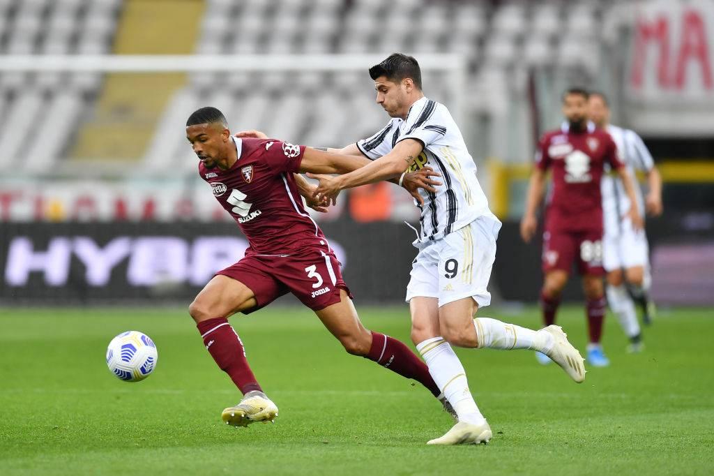 Bremer e Mora in Torino-Juventus