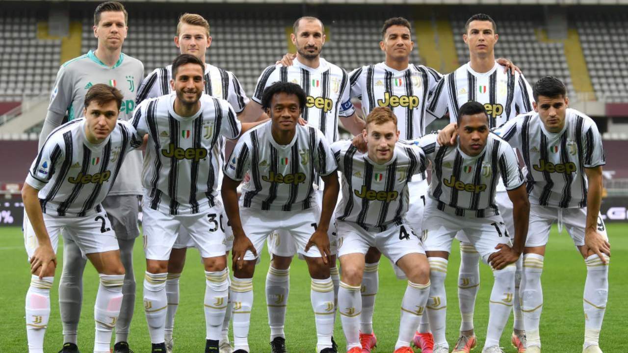 Juventus in posa