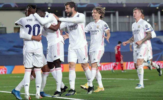 Il Real Madrid esulta