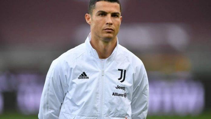 Ronaldo prima del match