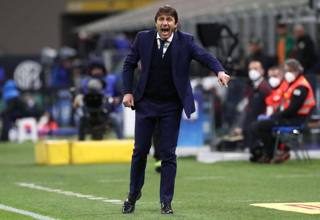 Conte durante Inter-Sassuolo