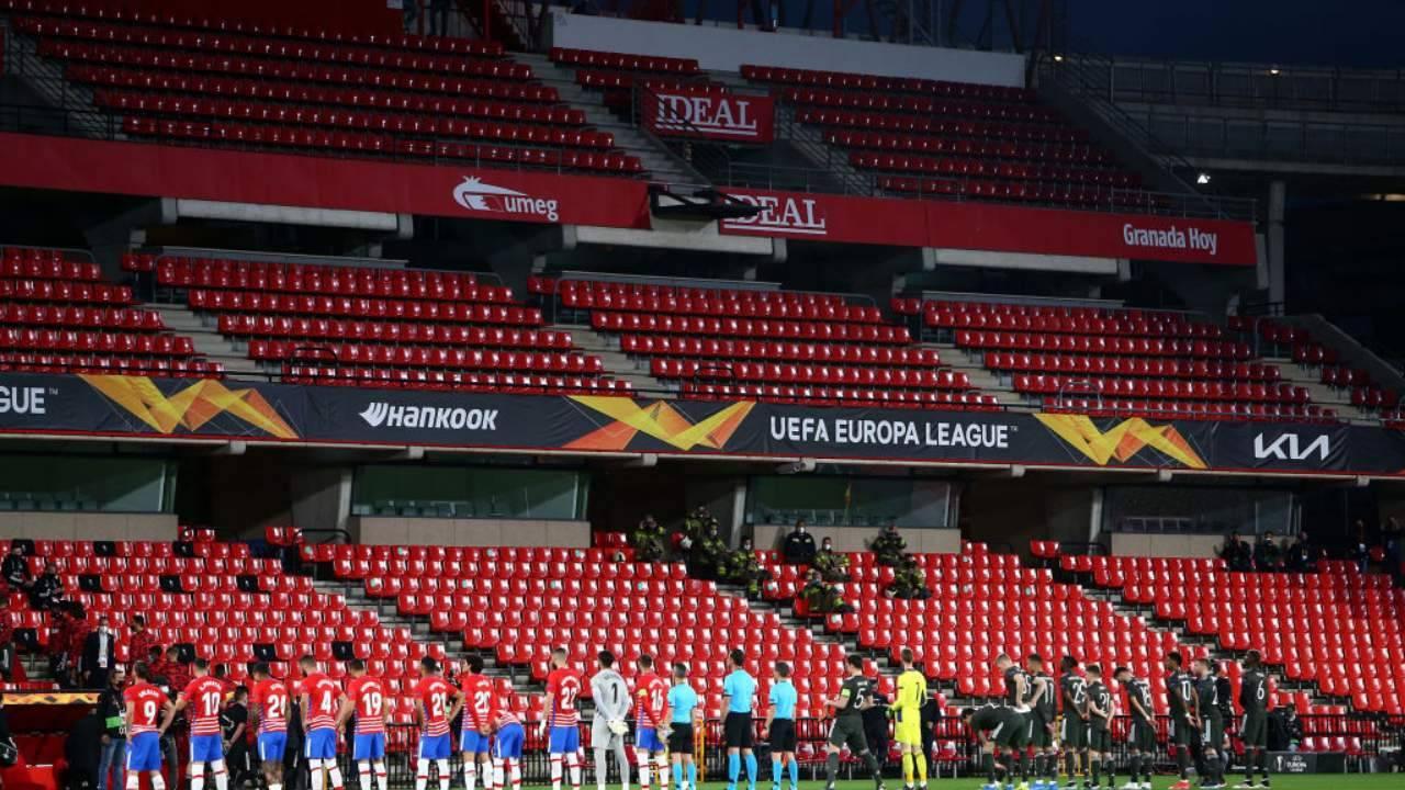 Granada e Manchester United prima del match
