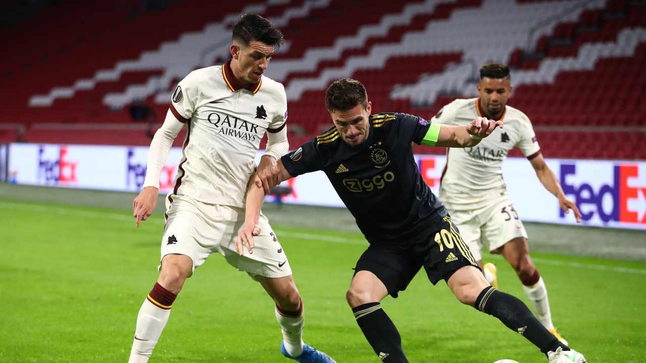 Ajax e Roma in campo