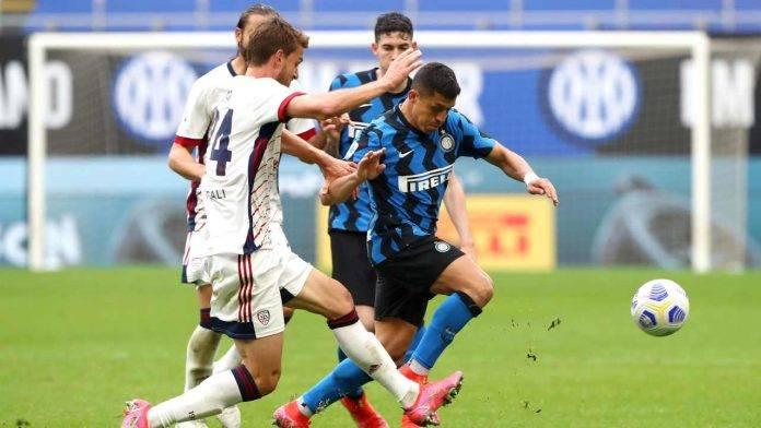 Inter e Cagliari in azione