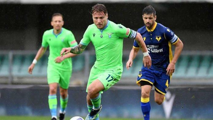 Verona e Lazio in azione