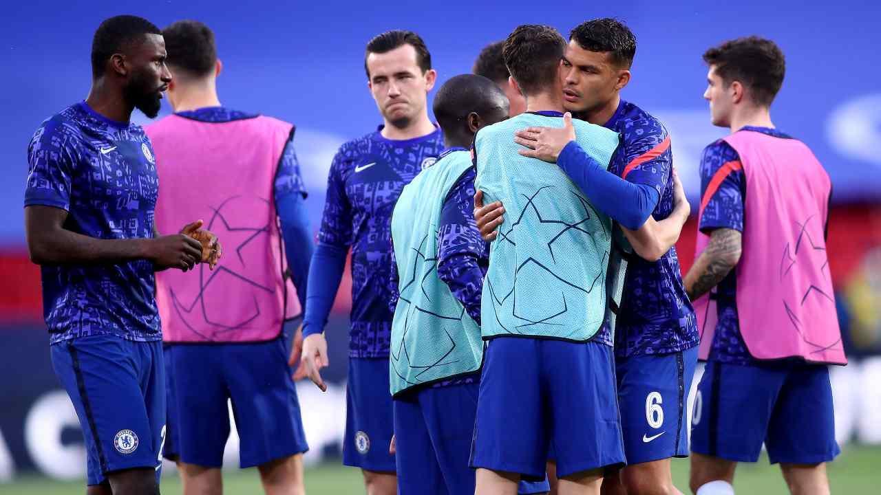 Il Chelsea esulta