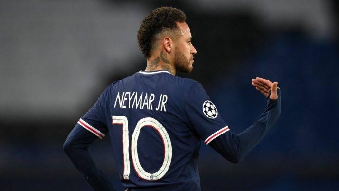 Neymar in campo