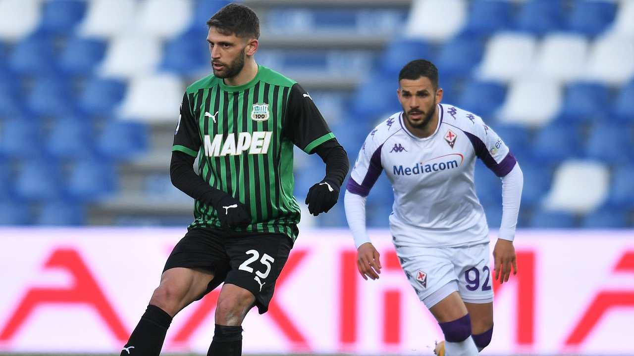 Domenico Berardi in azione