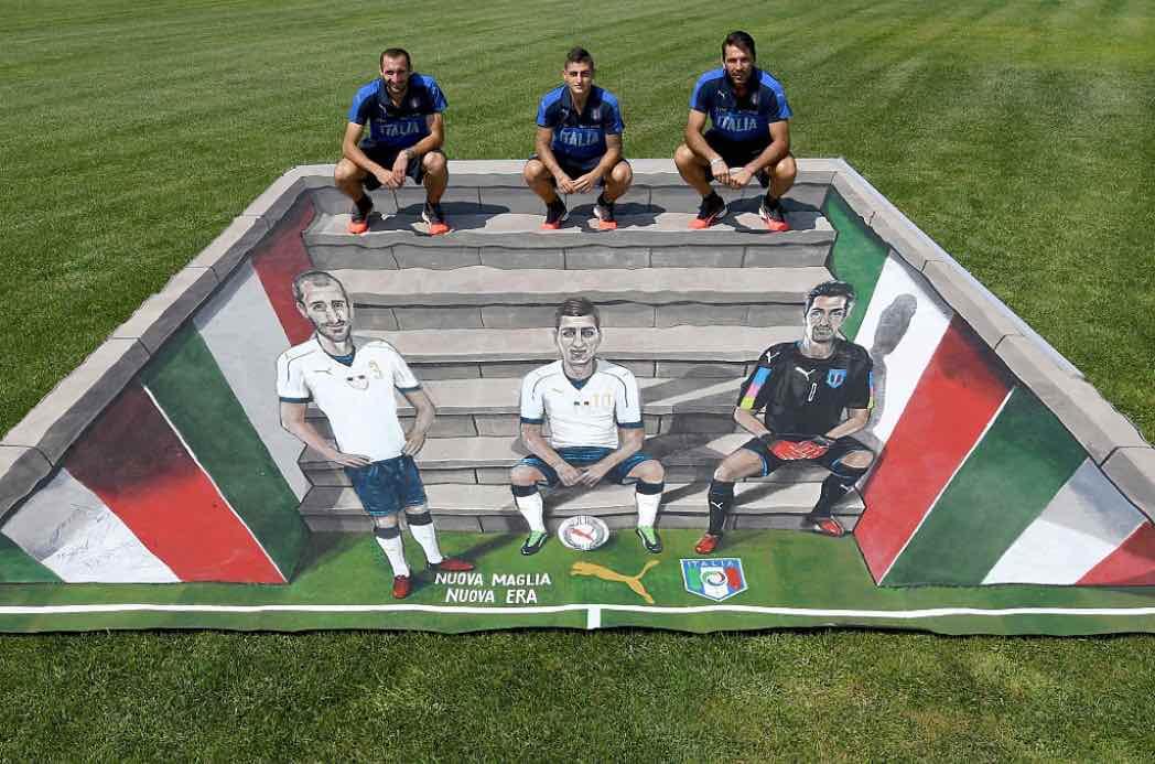 Puma presenta la maglia dell'Italia nel 2016