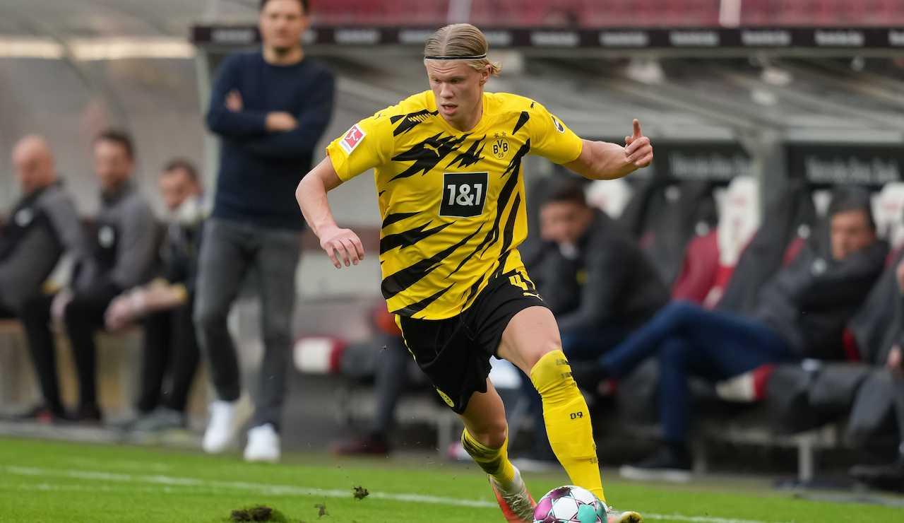 Haaland Raiola Borussia Dortmund