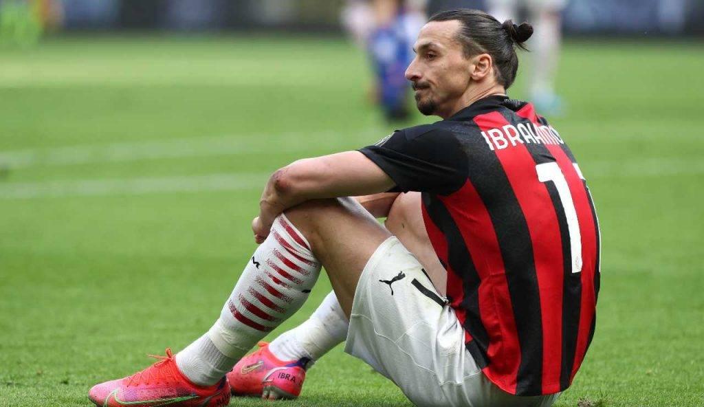 Ibrahimovic seduto