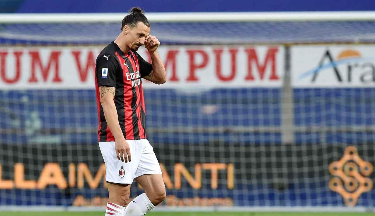 Milan squalifica Ibrahimovic ricorso