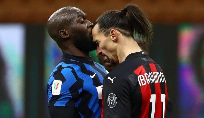 Lo scontro tra Ibrahimovic e Lukaku