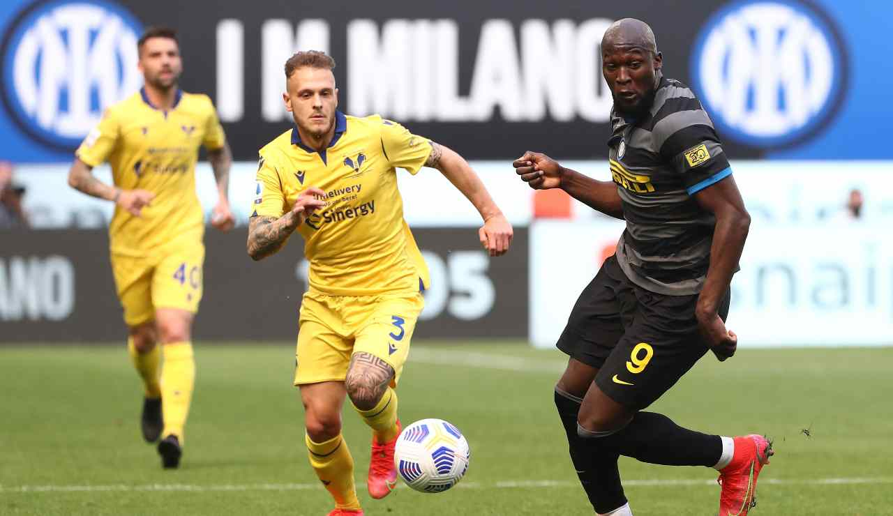 Lukaku contro il Verona