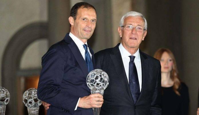 Marcello Lippi e Massimiliano Allegri potrebbero far parte della nuova Juventus