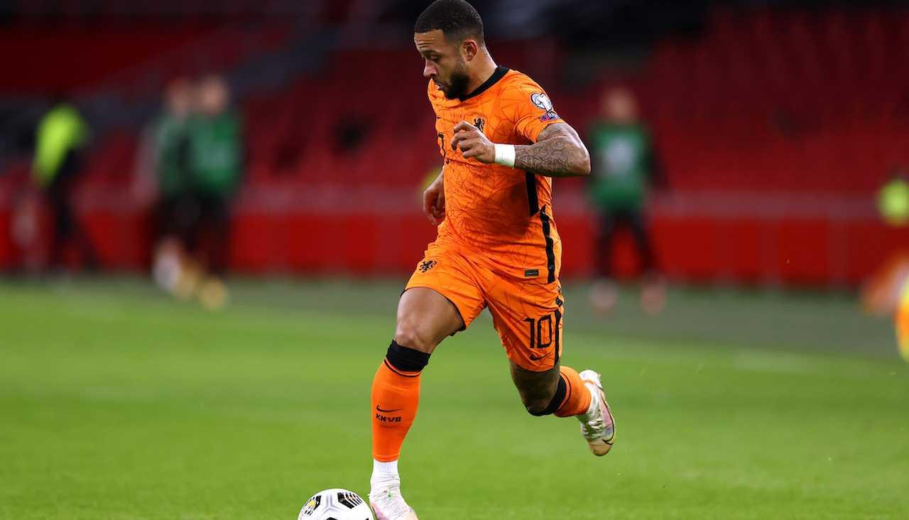Juventus Depay Lione Aouar Cherki