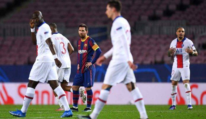 Messi Barcellona Paris Saint Germain offerta