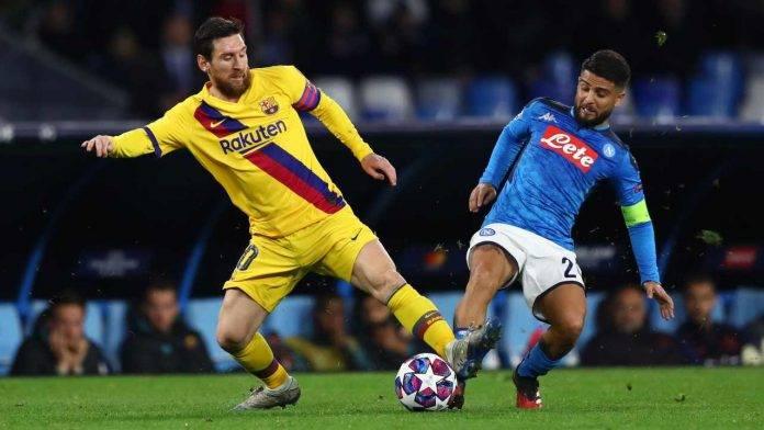 Napoli Insigne Messi