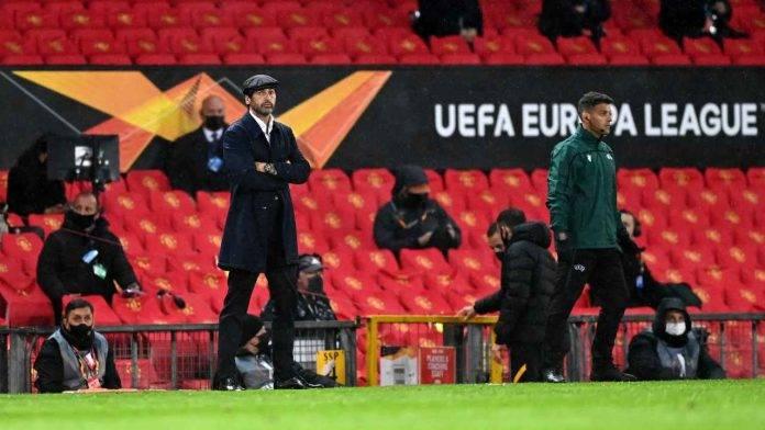 Paulo Fonseca deluso per il pessimo secondo tempo della Roma