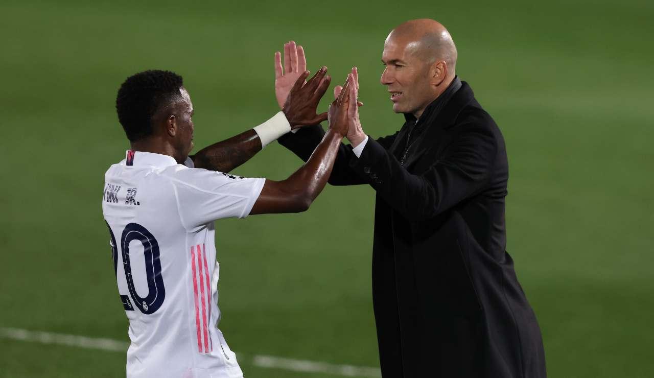 Vinicius e Zidane
