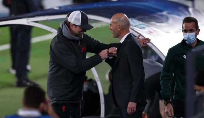 Zidane e Klopp