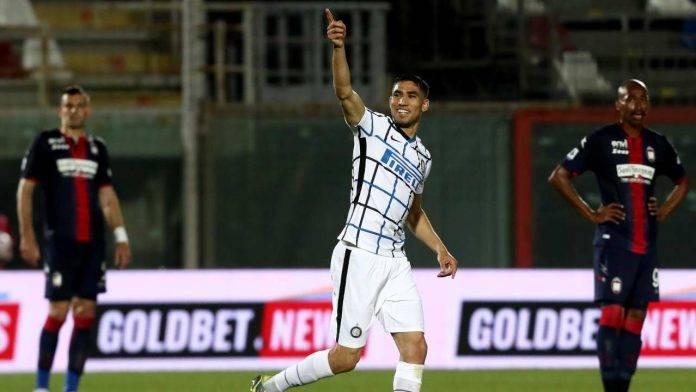 Hakimi, in gol pure con il Crotone, ha ammesso che gli sarebbe piaciuto tornare al Real Madrid