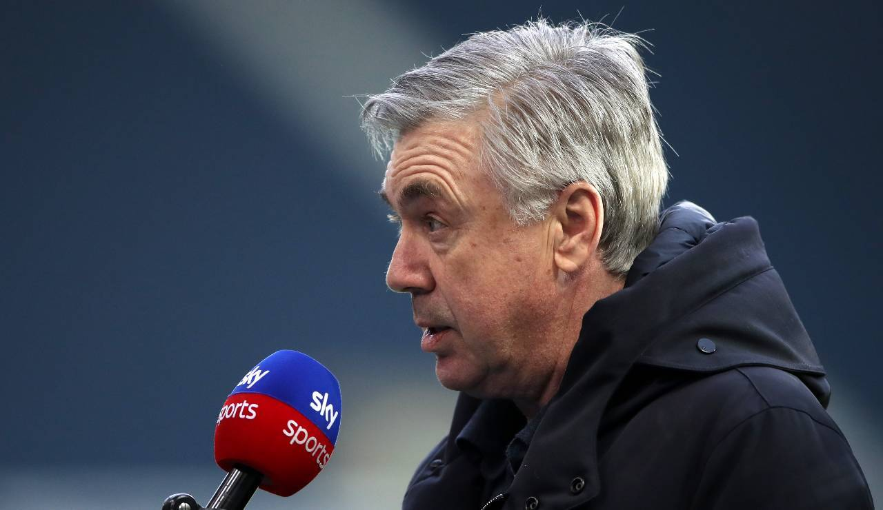 Carlo Ancelotti intervistato