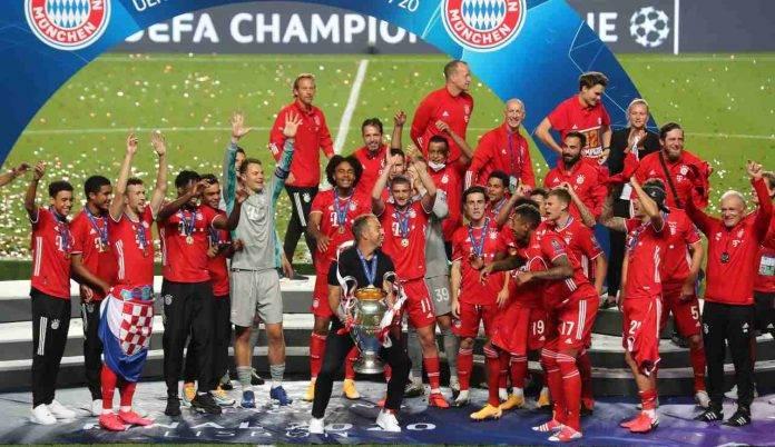 Il Bayern Monaco ha vinto la scorsa edizione della Champions League