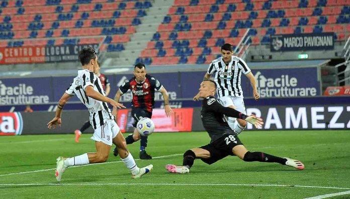 Dybala e Morata gol contro il Bologna