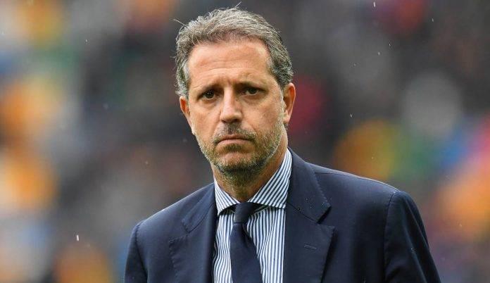 Paratici osserva Udinese-Juventus