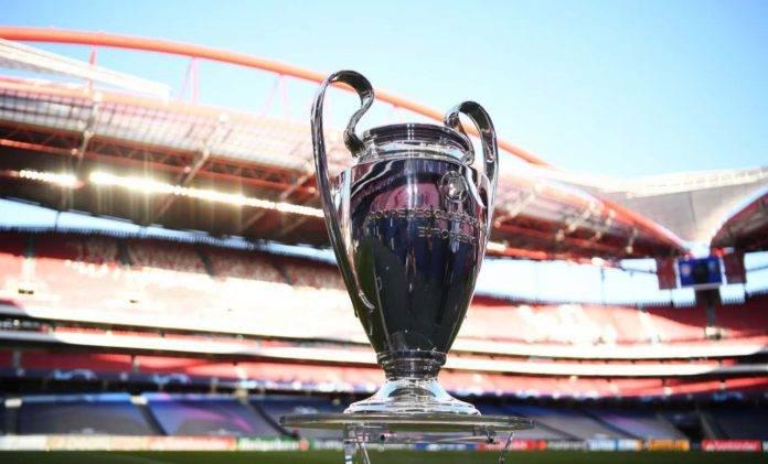Trofeo della Champions League a Lisbona