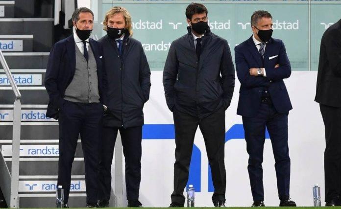 La dirigenza della Juventus al completo