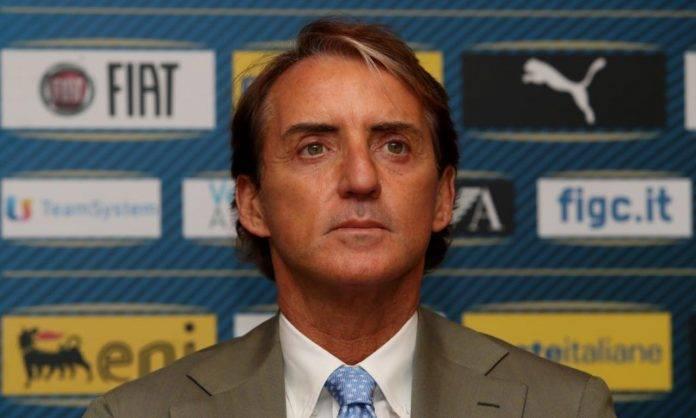 Mancini alla conferenza del rinnovo