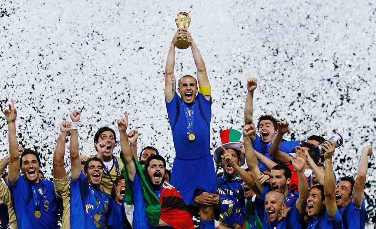L'Italia campione del mondo nel 2006