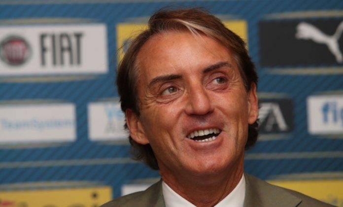 Roberto Mancini in conferenza stampa