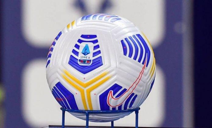 Il pallone ufficiale della Serie A
