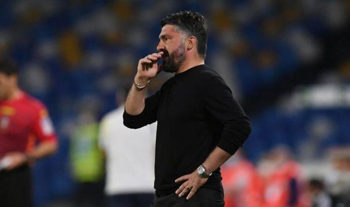 Rino Gattuso contro il Verona