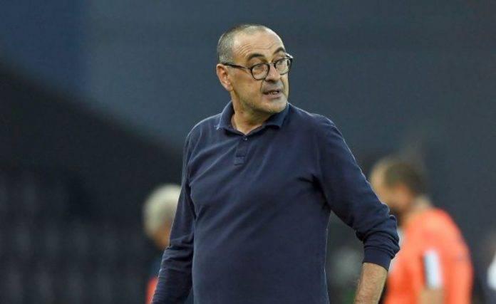 Maurizio Sarri ai tempi della Juventus