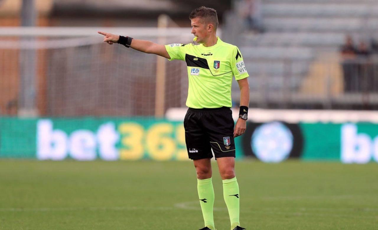 Daniele Orsato durante un match