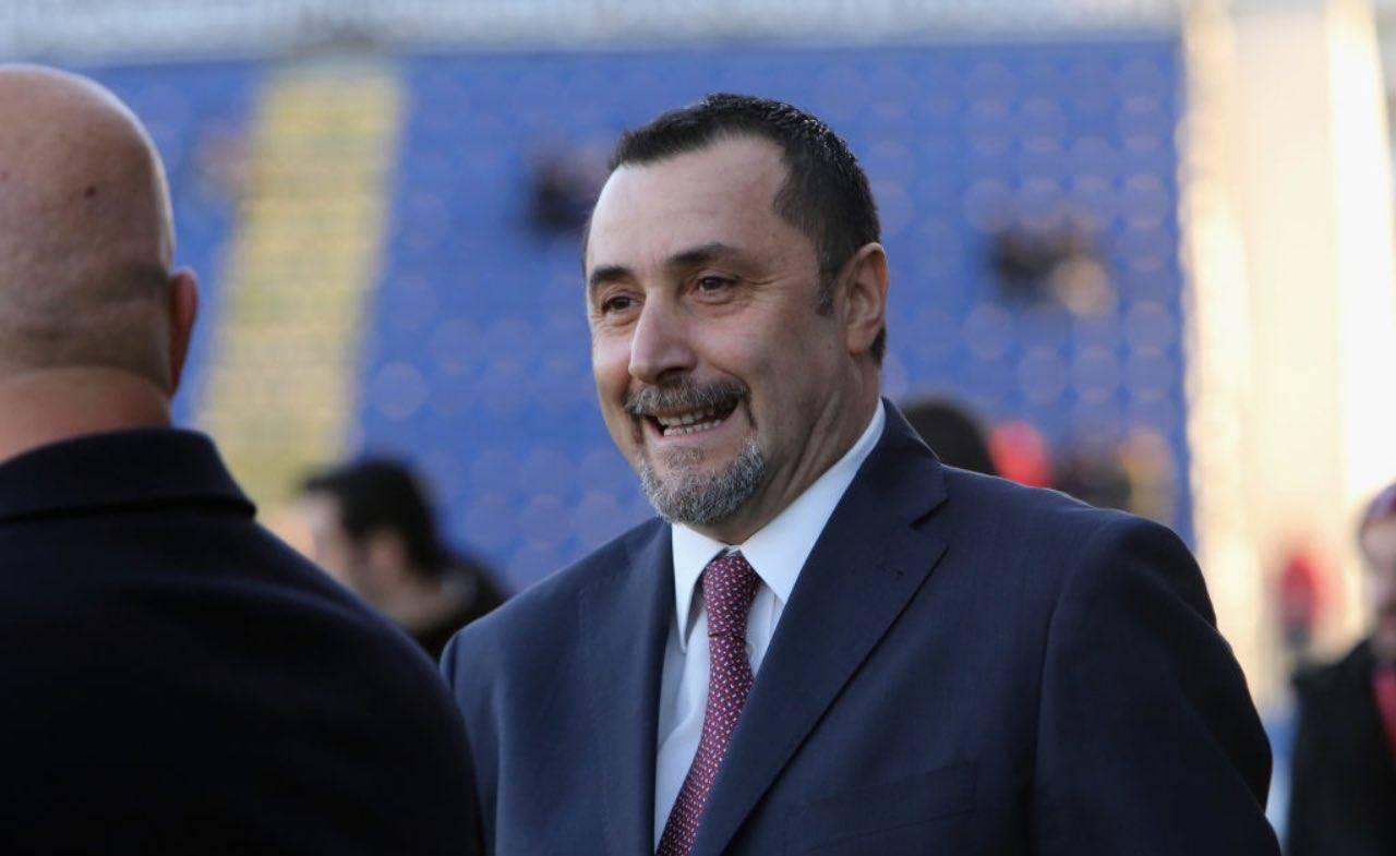 Massimiliano Mirabelli sorridente
